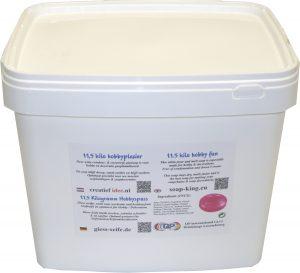 Melt pour soap 27,5 kilo