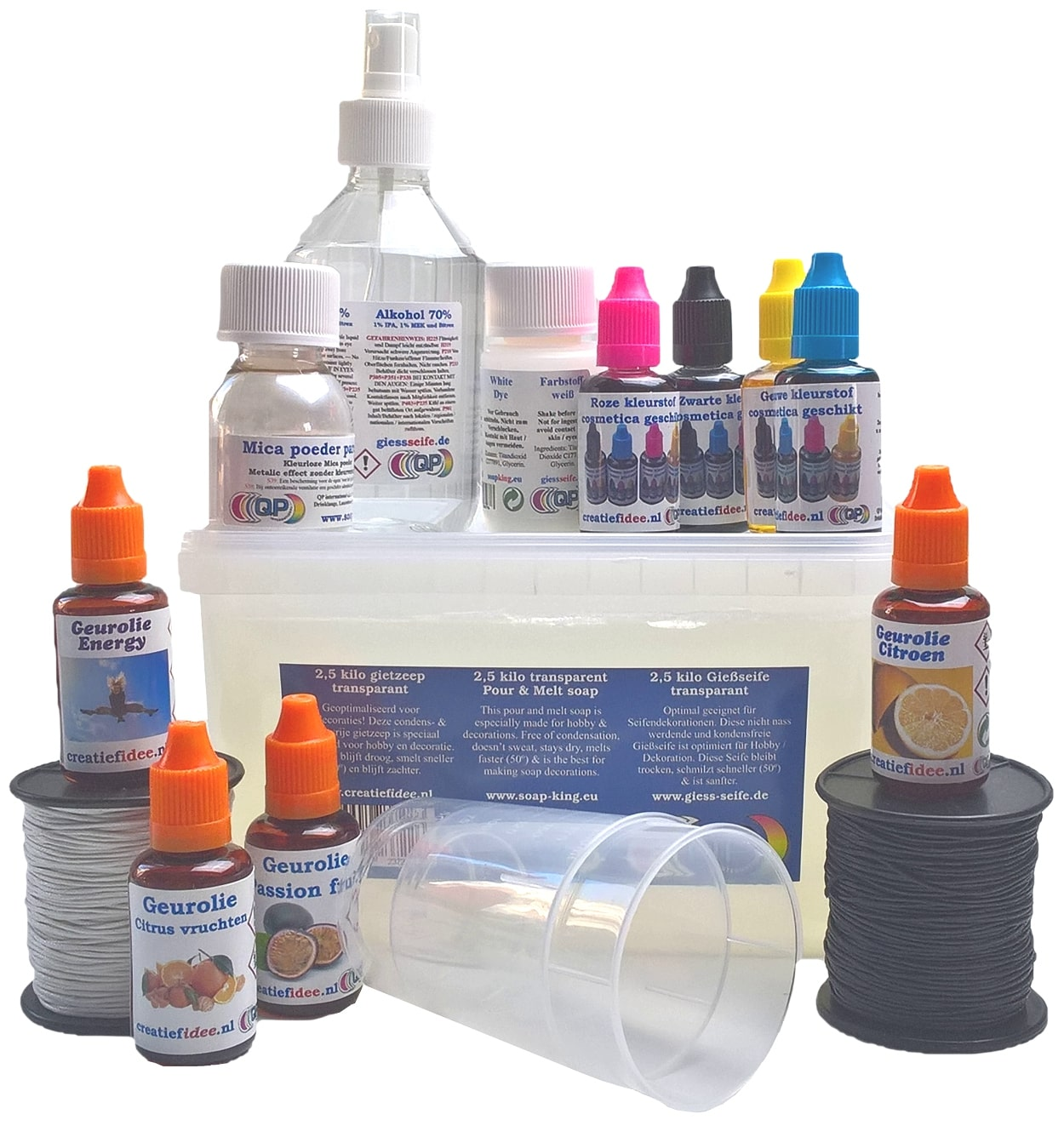 Soap making pack allround