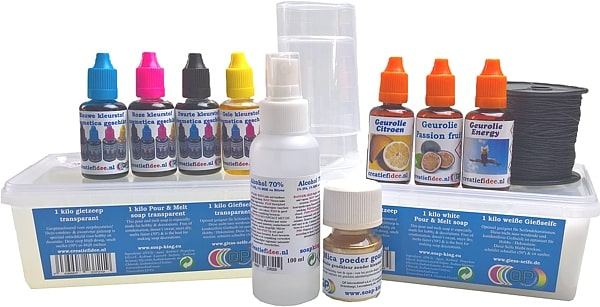 Soap making pack professional